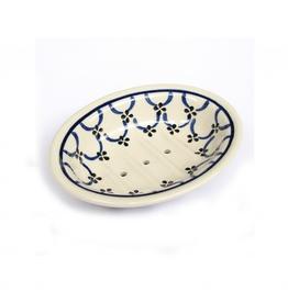 Ceramic Soap Dish-Light Pattern