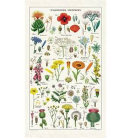 Cavallini Papers-Wildflowers Tea Towel