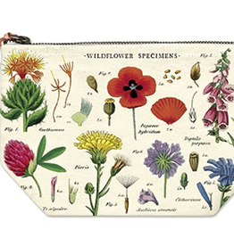 Cavallini Papers-Wildflowers Pouch