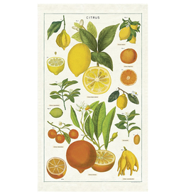Cavallini Papers-Citrus Tea Towel