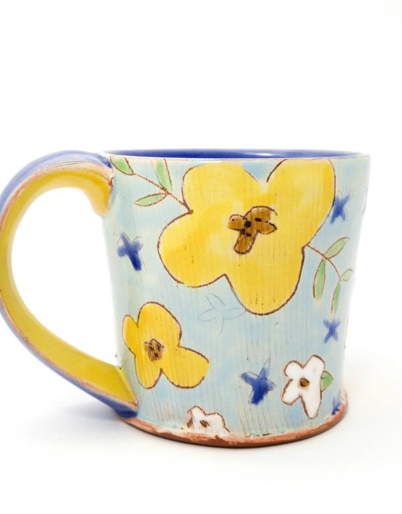 Flower Mug - Assorted