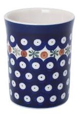Ceramic Beaker-Dark Pattern