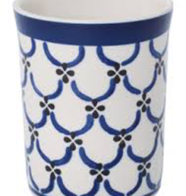 Ceramic Beaker-Light Pattern