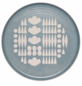 Imprint Dinner Plate-Collage