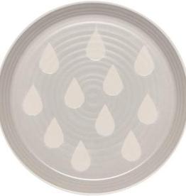 Imprint Side Plate-Gray