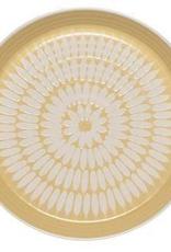 Imprint Side Plate-Ochre