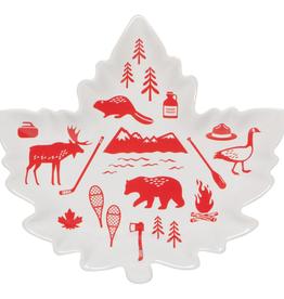 O Canada Shaped Dish
