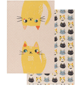 Meow Meow Tea Towel - Set 2
