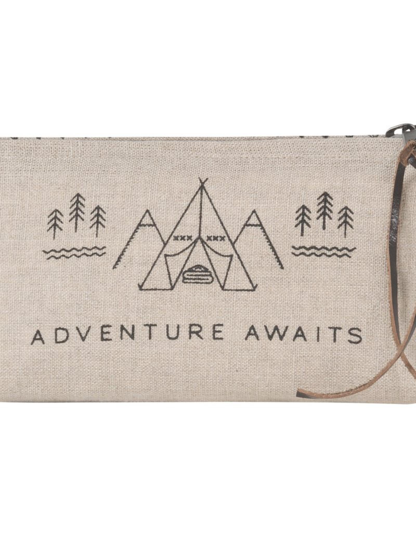 Adventure Awaits Pencil Bag