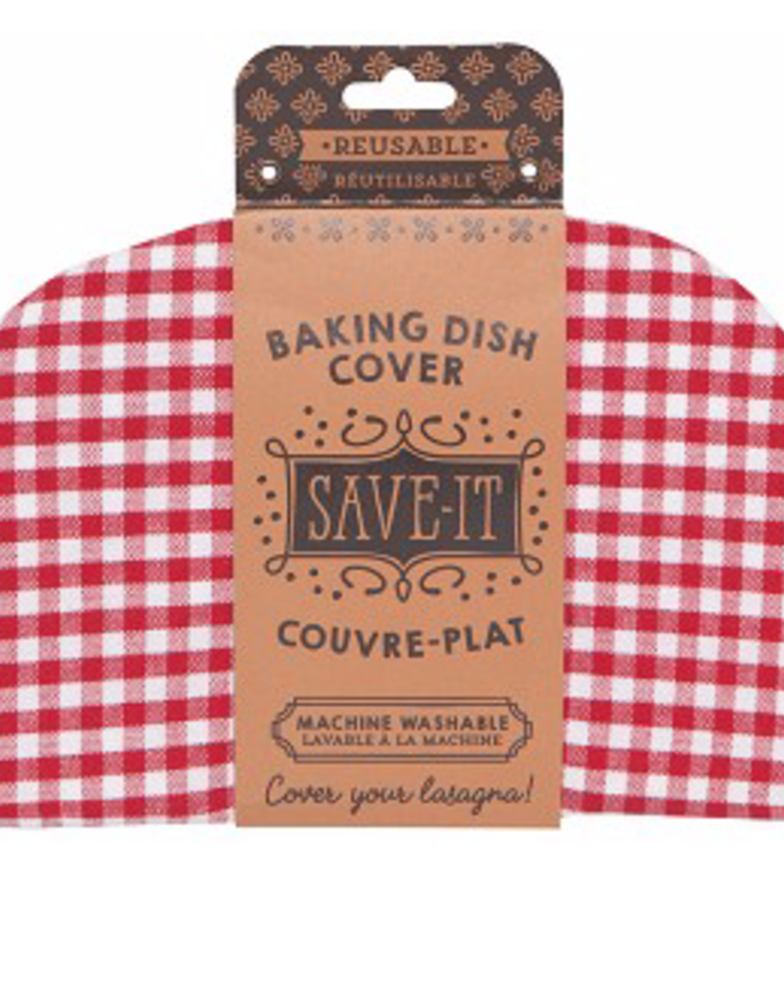 Baking Dish Cover Gingham