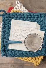 Parker Potholder-Blue