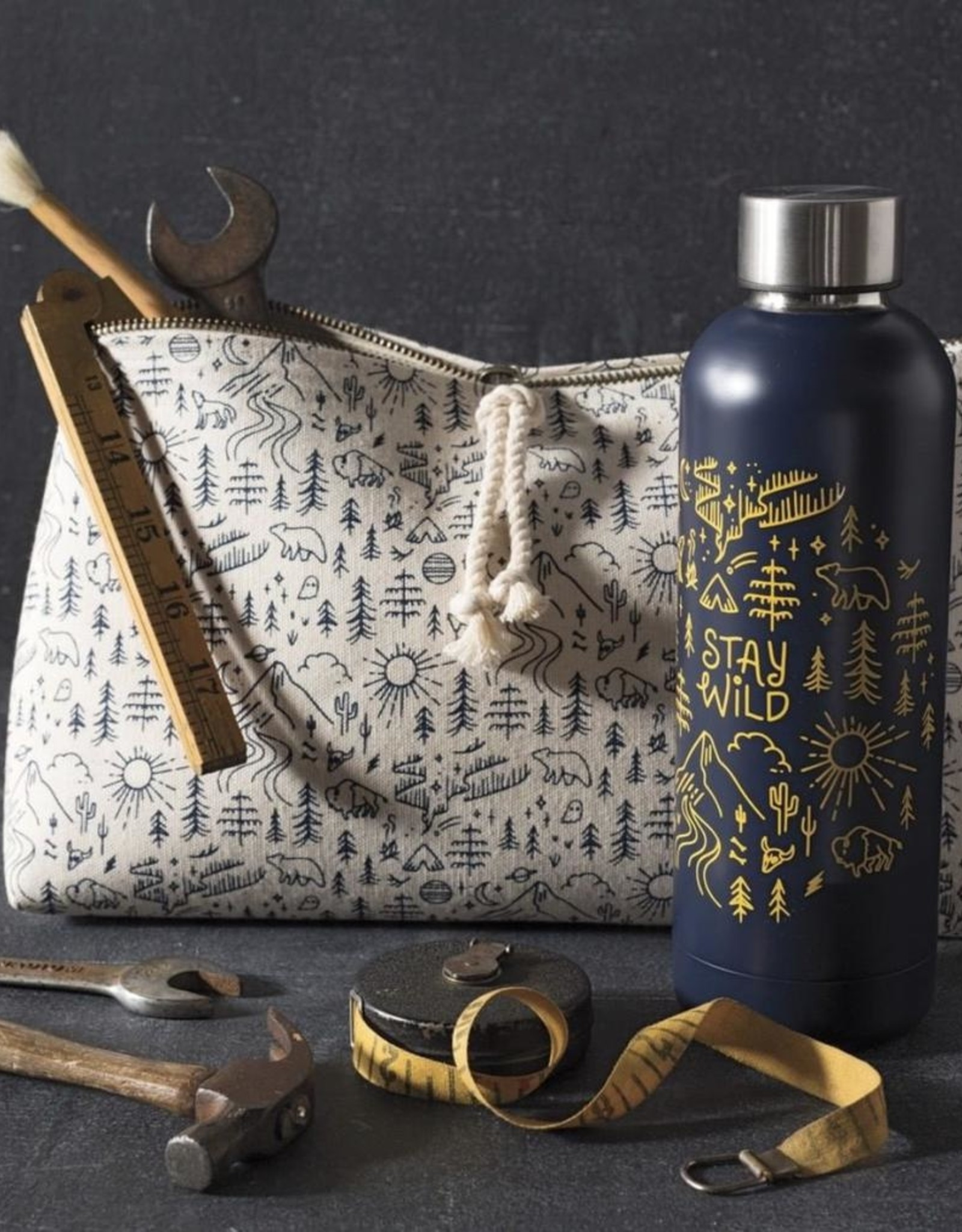 Stay Wild Cosmetic Bag