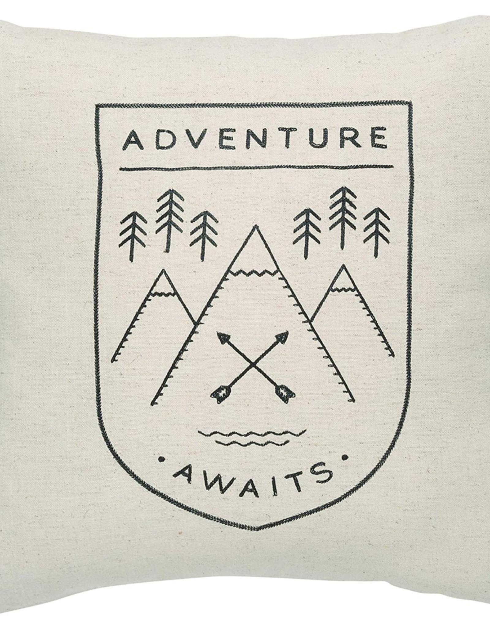 Adventure Awaits Cushion