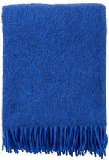 Gotland Wool Throw-Blue