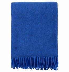 Gotland Wool Throw-Blue