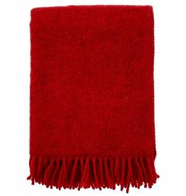 Gotland Wool Throw-Red