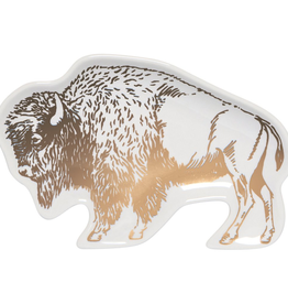 Trinket Tray-Stay Wild Buffalo