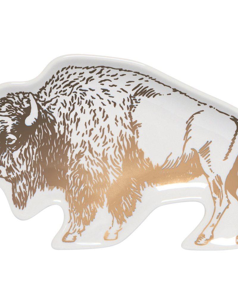 Trinket Tray-Stay Wild Buffalo