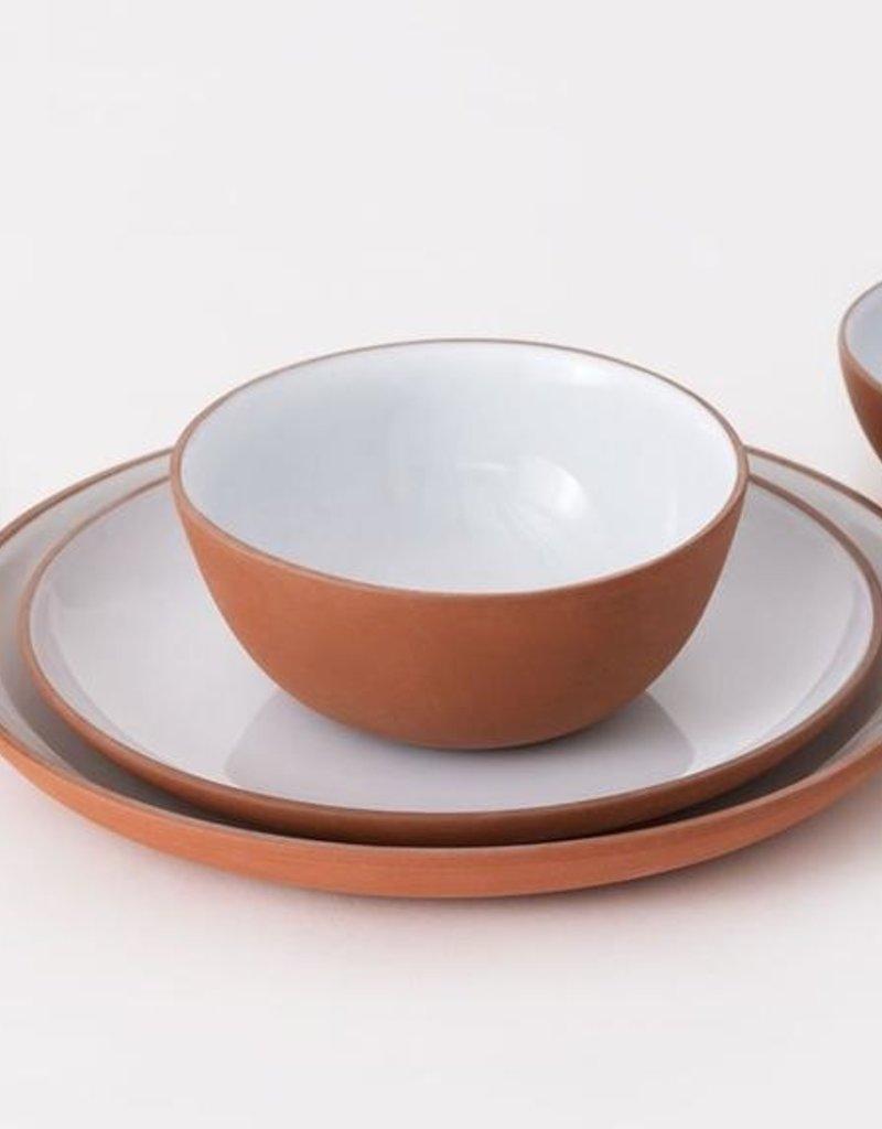 Garrido Stoneware Side Plate-Red