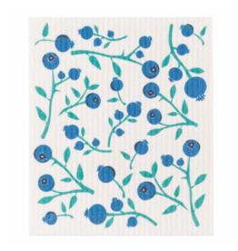 Blueberries Swedish Dishcloth