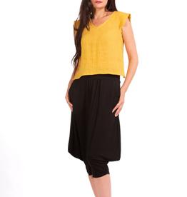 Cedar Linen Top - Two Colours