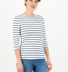 Organic Stripe - 3/4 Top