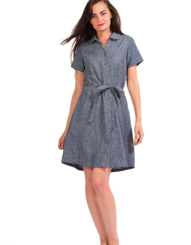 Aspen Dress - Hemp & Organic Cotton
