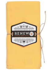 Renew Napkins-Honey-Set 4