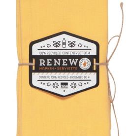 Renew Napkins-Honey-Set 4
