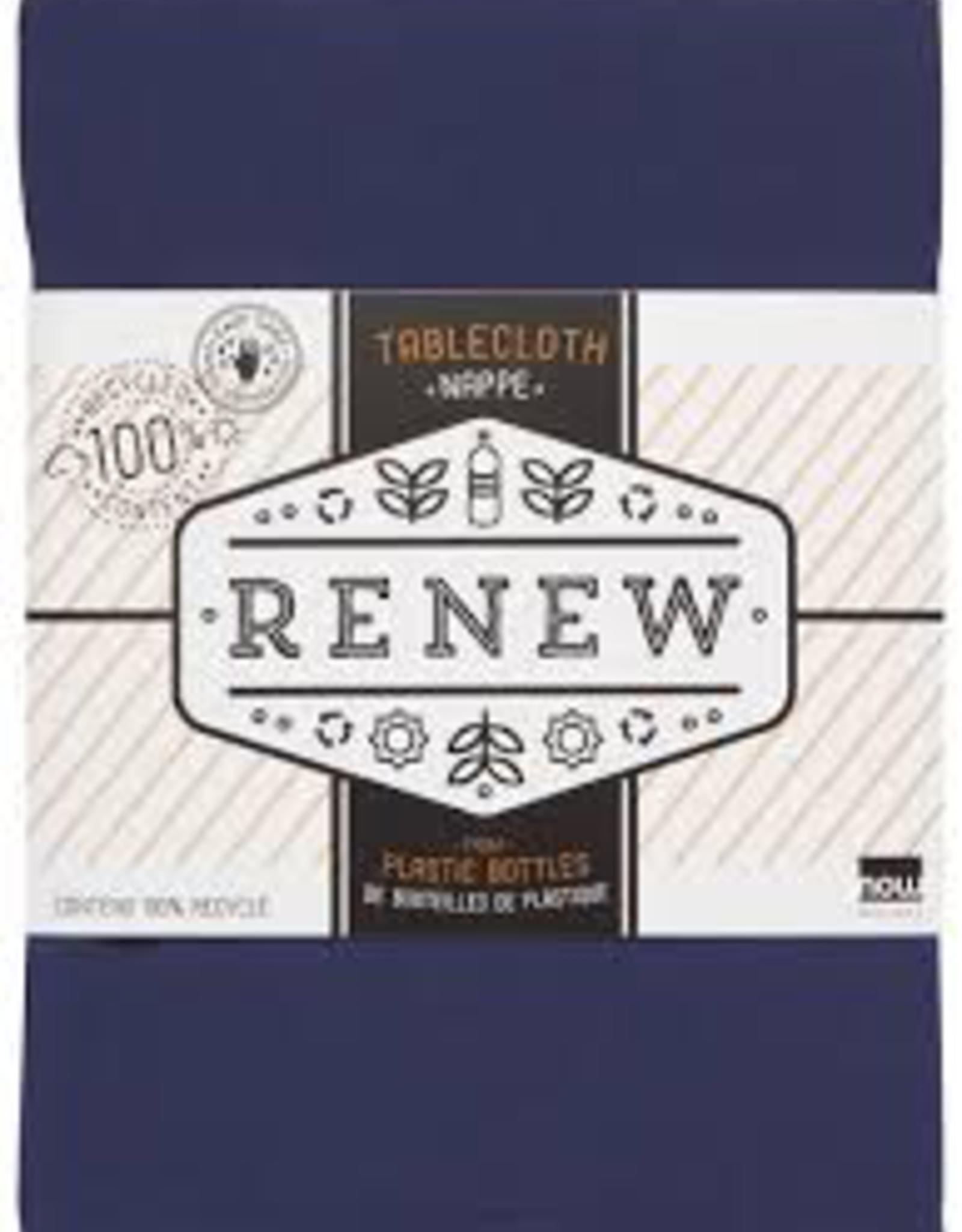 Renew Tablecloth-Indigo 60x120