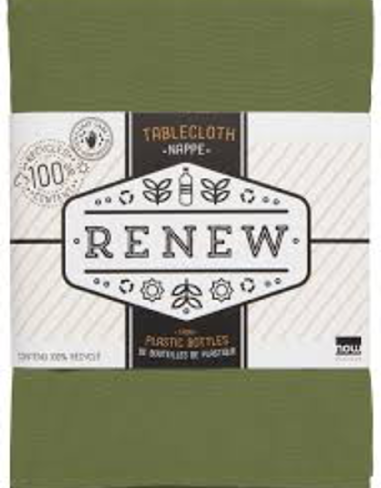 Renew Tablecloth-Fir 60x120