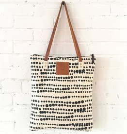 Heavy Canvas Hilary Tote - Black