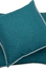 Blanket stitch cushion, forest