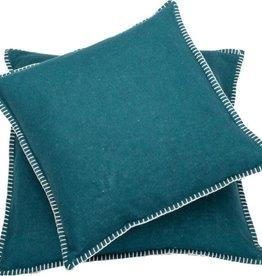 Blanket stitch cushion, forest