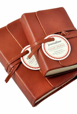 Journalino Leather Bound Notebook Small