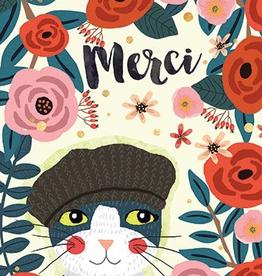 Paper E Clips-Merci Cat Card-CC1343