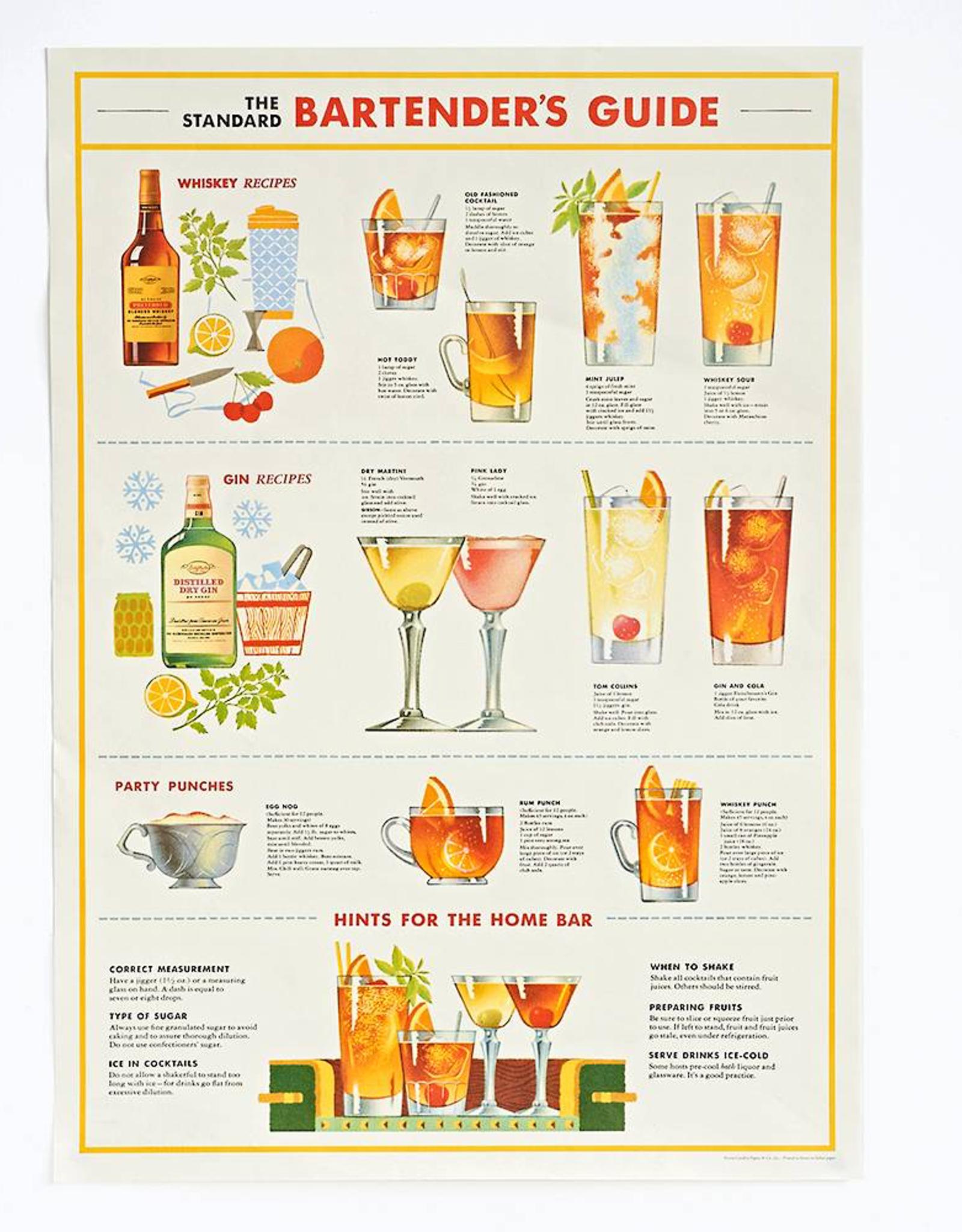 Poster Wrap Sheet - Bartender