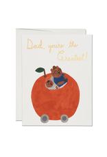 Orange Dad Card