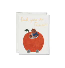 Orange Dad Card
