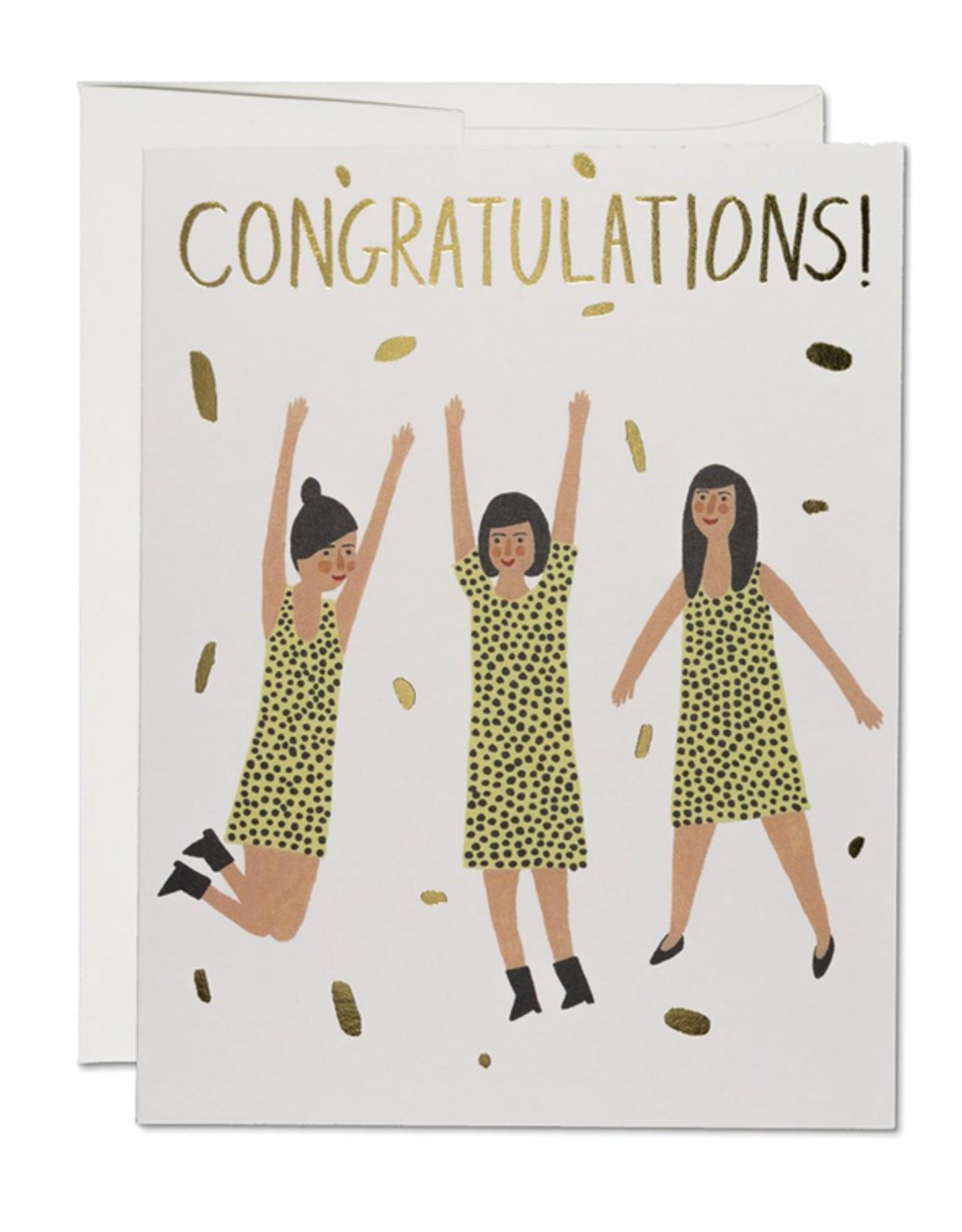 Three Women Congratulations