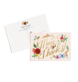 Thanks Postcards - Set 10