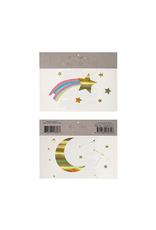 Rainbow & Shooting Star Tattoos