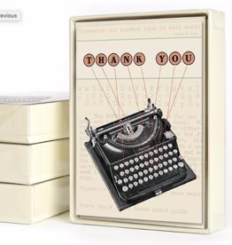 Thank You Typewriter - Boxed 10