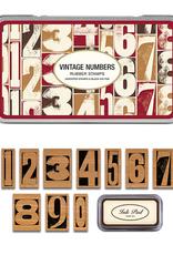 Vintage Numbers Stamp Set