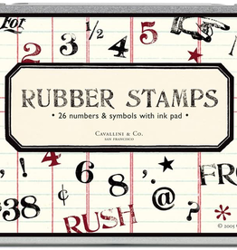 Numbers & Symbols Stamp Set