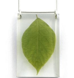Leaf Pendant Tall