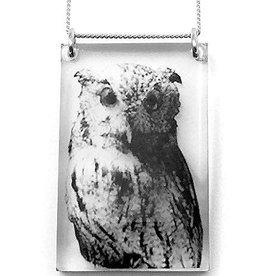 Owl Pendant Tall