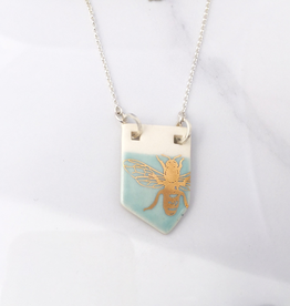 Bee Necklace Porcelain