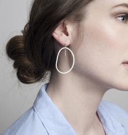 Pebble Earrings Sterling Silver