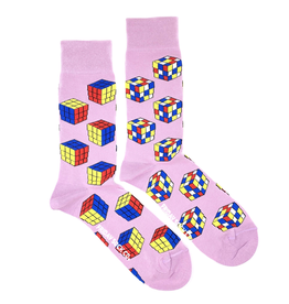 Rubiks Cube Socks